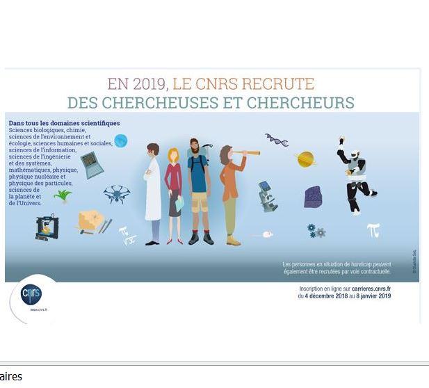 Avis aux candidats aux concours CNRS intéressés par les équipes i3